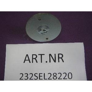 Teleskoopmutteri taldrikSPL4000, Nussbaum