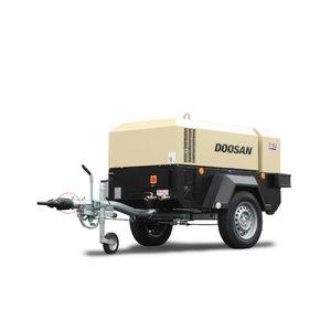 Pārvietojams kompresors 4 m3/min 7/41 (CE/WBB/IRB/L2), Doosan