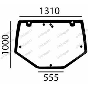 Kabīnes aizmugures stikls NH 86002901; 83002901; 89823602, Bepco