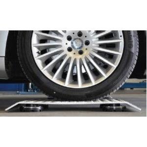 Drive-on plates  for raising car by 50mm, 4pcs set, Nussbaum