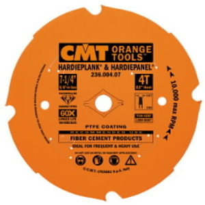 Diskas fibrocemento pjovimui DP D=190X2.4X30 Z4 TCG, CMT