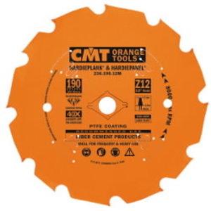 Saw blade for fibrocement DP D=216X2.4/1.8X30 Z14 TCG, CMT