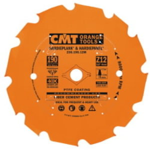 Saw blade for fibrocement DP D=216X2.4/1.8X30 Z14 TCG, CMT