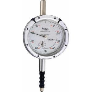 Dial Indicator, 0-3x0,01 mm, oil-tight,waterproof,shockproof, Vögel
