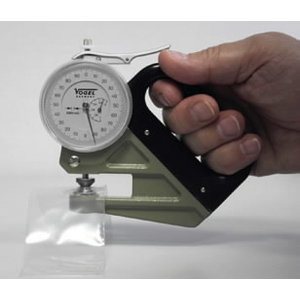 Thickness dial gauge 0-1mm 0,001mm, Vögel