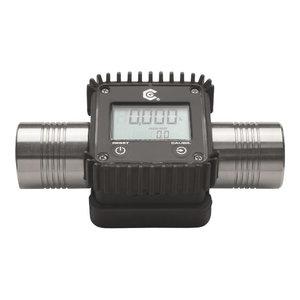 """AdBlue digital hose end/line meter, LCD display, 1"""", Orion"""