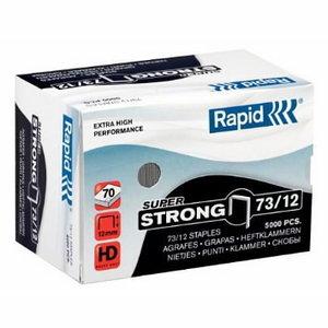 Kabės 73/12mm 5000vnt SUPER STRONG, Rapid