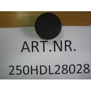 Kopfschutz 68x40c15 9250HDL48028, Nussbaum
