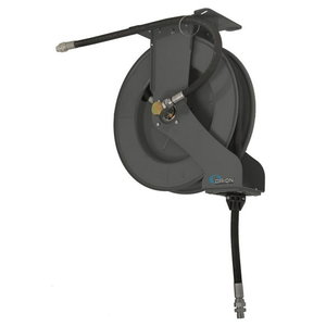 "Hose reel open, 1/2""x10m, oil/air, gray, Orion"