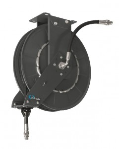 "Hose reel open, 1/2""x15m, oil/air, gray, Orion"