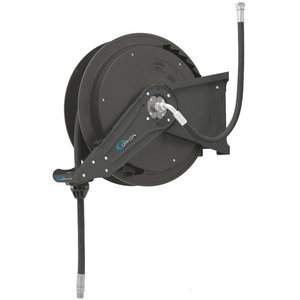 Hose reel open, 1/2´´x15m, oil/air/water, gray