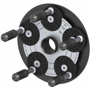 QuickPlate 5-holes with standard heads, Haweka