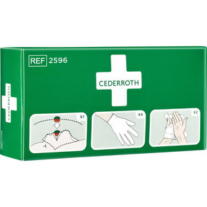 Protection Kit (incl gloves, Safety Skin Cleanser, Breathing, Cederroth