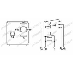 Relay CASE 1502351C1; 3221178R1, Bepco