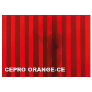 Welding curtain strip, orange-CE, cut to size, 300x3mm, Cepro International BV