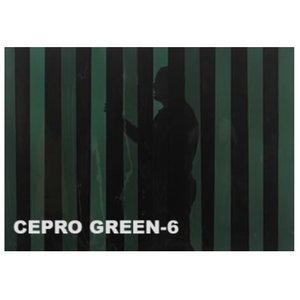 Metināšanas aizskaru lameles 300x2mm, zaļš-6, 50 m rullis, Cepro International BV