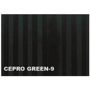 Metināšanas aizskaru lameles 300x2mm, zaļš-9, 50m rullis, Cepro International BV