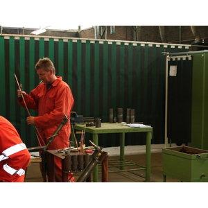 Suvirinimo  užuolaida   300x3mm, t.žalia-9 Cepro, Cepro International BV