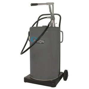 De-Lux mobile oil dispenser 60L, with hand pump, Orion