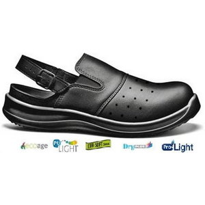 Darba sandales Clima, melnas, SB  SRC 36, Sir Safety System