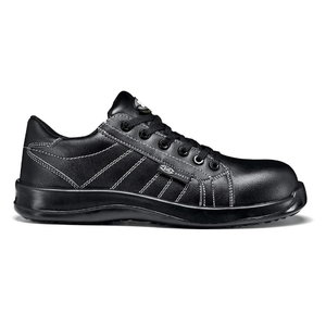 Aizsargapavi BLACK FOBIA LOW S3, melni, 43, Sir Safety System