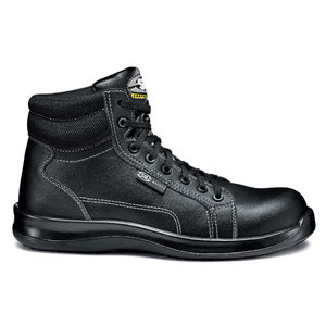 Safety boots Black Fobia ankle high S3 SRC, black, 43, Sir Safety System