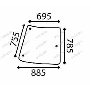 CORNER WINDOW R201575, Bepco