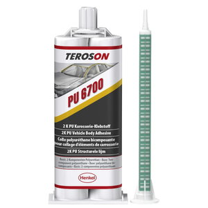 Dvikomponenčiai klijai  PU 6700 2x25ml, Teroson