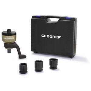 Torque multiplier 1:5 1300Nm in 1/2 out 3/4  DVV-13ZG set, Gedore