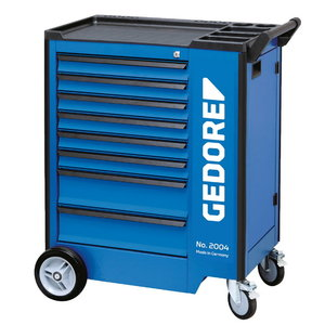 Tool trolley with 207-piece tool assortment 1500 ES-02-2004, Gedore