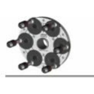 QuickPlate kiirkinnitus adapter 6 poldiga velgedele , Haweka