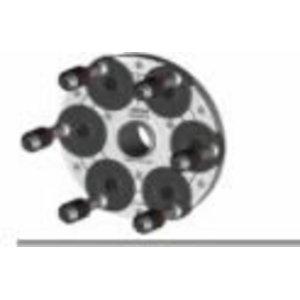 QuickPlate 6-holes with standard heads, Haweka