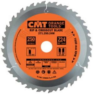 Diskas pjovimo 250x2,4x30 Z24 HM, CMT