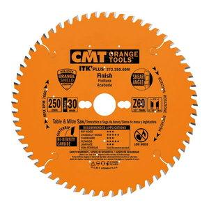 Diskas pjovimo HM 165x1,7/20(+15,87)mm Z36 a20° ß10° ATB ITK ITK-PLUS, CMT