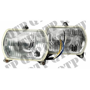 HEAD LAMP KIT LH & RH - 12 Volt - 60/55 Watt, Quality Tractor Parts Ltd