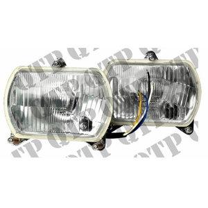 HEAD LAMP KIT LH & RH - 12 Volt - 60/55 Watt, Quality Tractor Parts Ltd