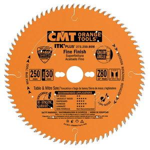 ITK PLUS FINE FINISH SAW BLADE HW 190X1.7X30(+20+16) Z=64 AT, CMT
