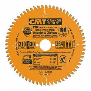 Saw blade for ALU HM 216x2,2/30mm Z64 a-6° ßTCG ITK-PLUS, CMT