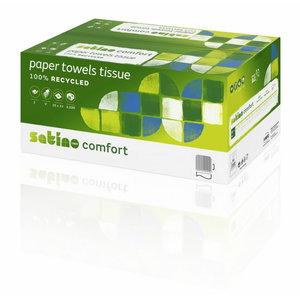 Popieriniai ranksluosčiai lapeliais Comfort PT3, Satino