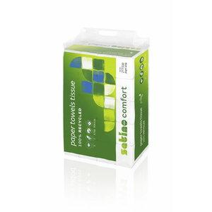Popieriniai ranksluosčiai lapeliais Wepa Comfort PT2, Satino