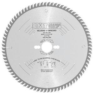 Diskas skersiniam pjovimui 160x2,2/30mm Z48 a10° bTCG, CMT
