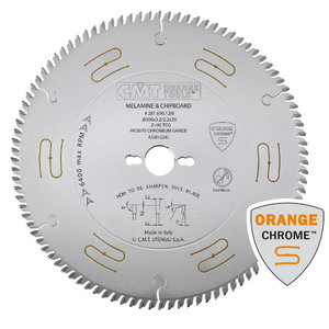 SAW BLADE HW 300x3.2/2.2x30 Z96 5HWG (CHROME), CMT