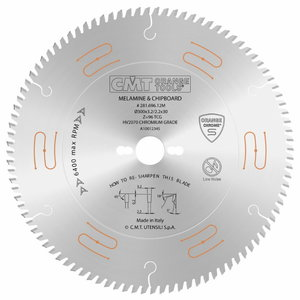 Sawblade for laminated panels 160x2.2/1,6x20mm Z48 a=4° TCG INDUSTRIAL, CMT