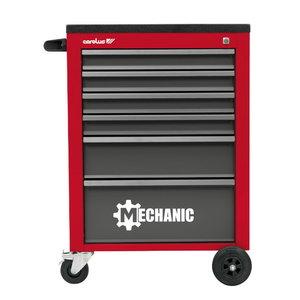 tool trolley empty 6 drawers 2046.10 red/black, Carolus