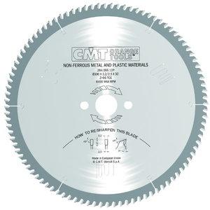 Zāģripa plastmasai un alumīnijamHW 216X2.6/2.2X, CMT