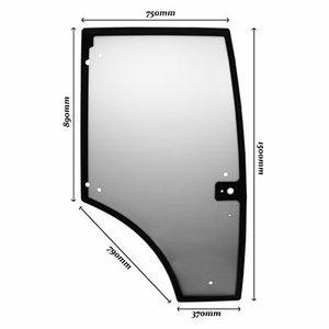 Door glass RH 9 holes CLAAS ARION 430 7700073325, BEPCO