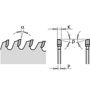 SAWBLADE 150x3.2x30 Z48 ATB 15° HM, CMT
