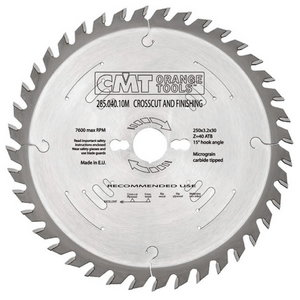 RIPPING-CROSSCUT SAW BLADE 350X3.5X30 Z54 10ATB, CMT