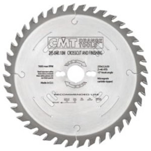 RIPPING-CROSSCUT SAW BLADE 260X2.8X30 Z60 10ATB, CMT