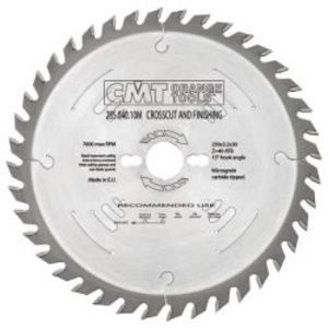 RIPPING-CROSSCUT SAW BLADE 260X2.8X30 Z60 10ATB, CMT